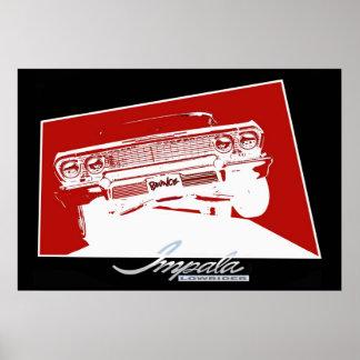 BOUNCE Impala Lowrider Print