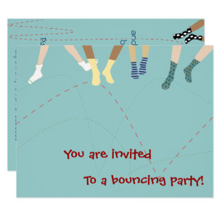 Bounce Party Invitation