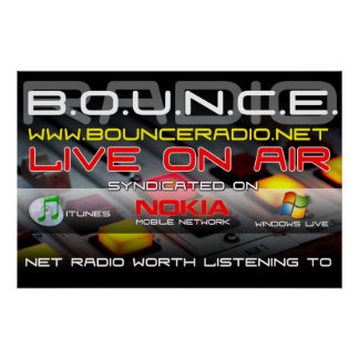 Bounce Radio Syndication Poster