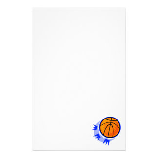 Bounce the Basketball Stationery Design