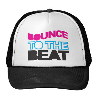 Bounce To The Beat Trucker Hat