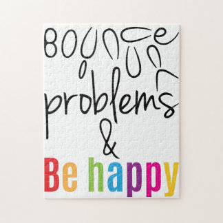Bounce your problems puzzle gift