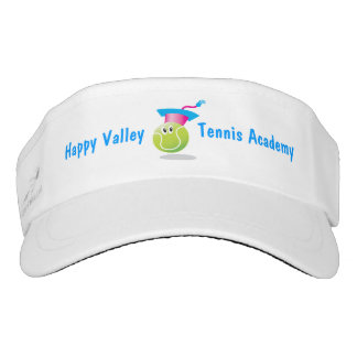 Bouncee™ smiling tennis ball_personalized visor