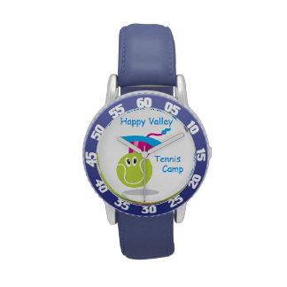 Bouncee™ smiling tennis ball_personalized wristwatches