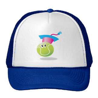 Bouncee™ smiling tennis ball_student of the game trucker hat