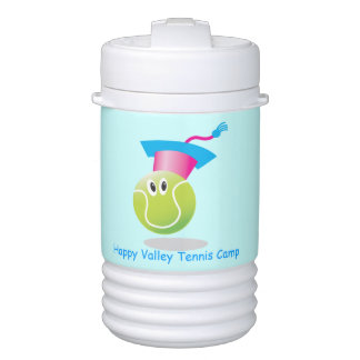 Bouncee™ smiling tennis ball_student of the game igloo beverage cooler