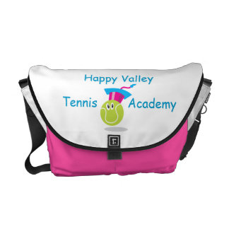 Bouncee™ smiling tennis ball_student of the game messenger bag