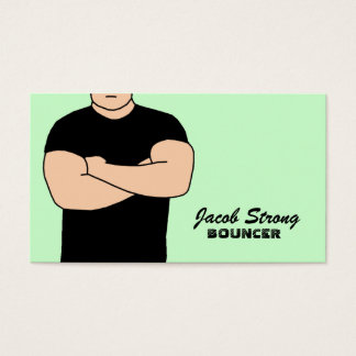 Bouncer Business Cards