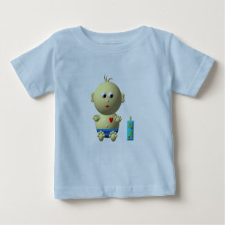 BOUNCING BABY BOY WITH 1 BOTTLE BABY T-Shirt