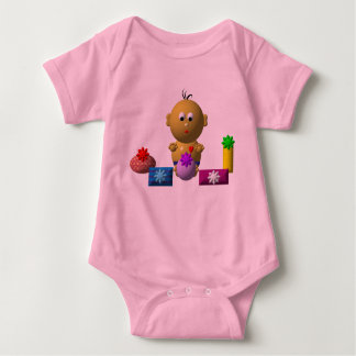 BOUNCING BABY BOY WITH 5 PRESENTS BABY BODYSUIT