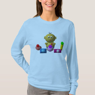 BOUNCING BABY BOY WITH 5 PRESENTS T-Shirt