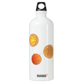 Bouncing Basketballs SIGG Traveler 1.0L Water Bottle