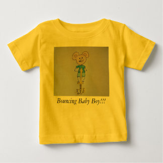Bouncing Boy Baby T-Shirt