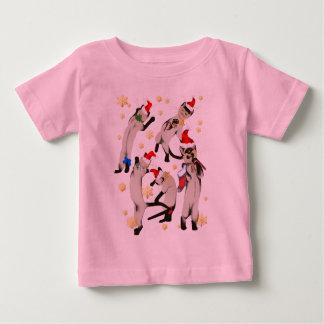 Bouncing Bunch Of Christmas Kitties Shirt