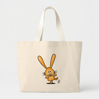 Bouncing Bunny Canvas Bag