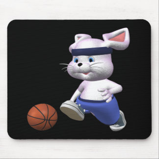Bouncing Bunny Mouse Pad