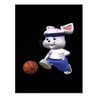 Bouncing Bunny Postcard