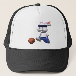 Bouncing Bunny Trucker Hat
