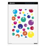 Bouncing Gumballs iPad 3 Skin
