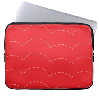 Bouncing Lines Laptop Sleeve