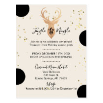 Bouncing Polka Dots Company Holiday Party Invite