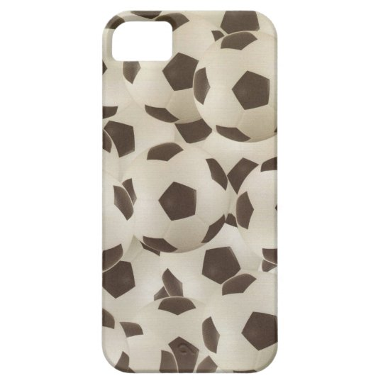 Bouncing Soccer Balls iphone 5 barely there iPhone SE/5/5s Case
