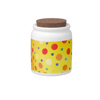 Bouncing Spotted Balls Candy Dishes
