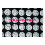 Bouncing Volleyballs Thank-you Notecards Stationery Note Card