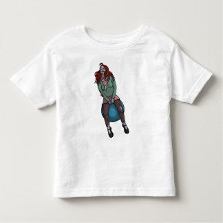 Bouncing Zombie 2, babies or kids shirt