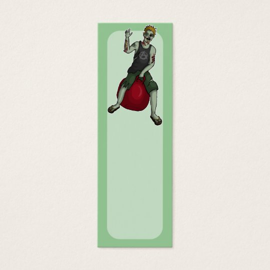 Bouncing Zombie 3, bookmark pack or business cards
