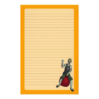 Bouncing Zombie 3, stationery