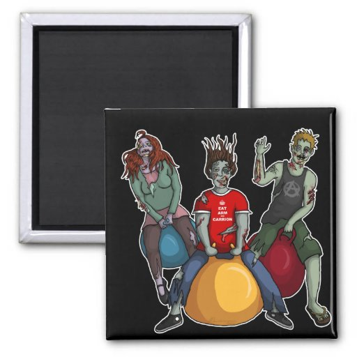 Bouncing Zombies, magnet