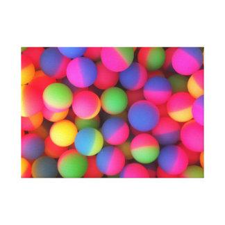 Bouncy Balls Canvas Print