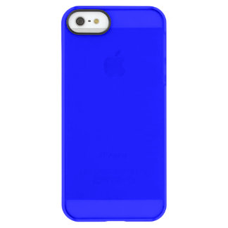 Bouncy Bright Blue Color Permafrost iPhone SE/5/5s Case
