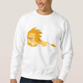Bouncy Cartoon Lion Apparel Sweatshirt
