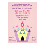 Bouncy House Birthday Party Personalized Invitation