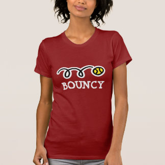 Bouncy tennis T shirt for women