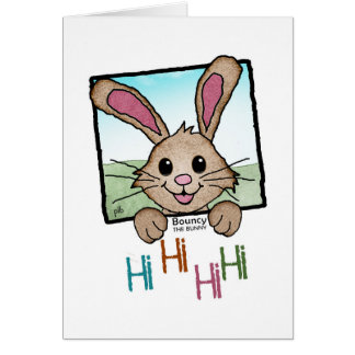 Bouncy the Bunny (Pathway Pet) Card