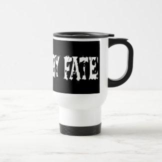 BOUND BY FATE White Travel Mug