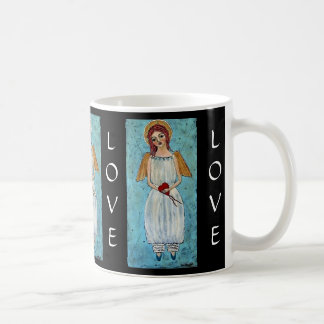 Bound by Love Angel Mugs