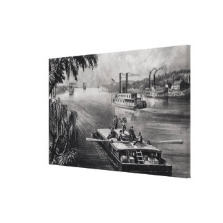 Bound Down the River Gallery Wrapped Canvas