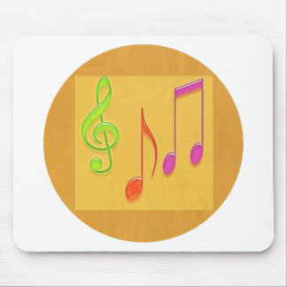 Bound to Sound Good -  Dancing Music Symbols Mouse Pads