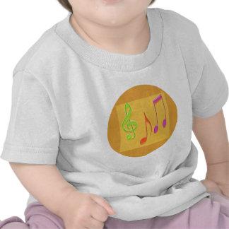 Bound to Sound Good -  Dancing Music Symbols T Shirts