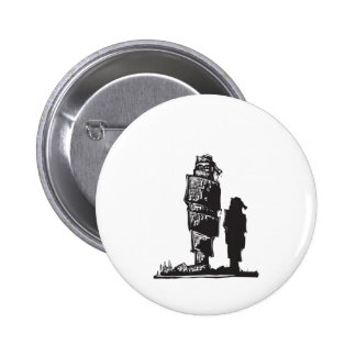Bound Up Pinback Buttons