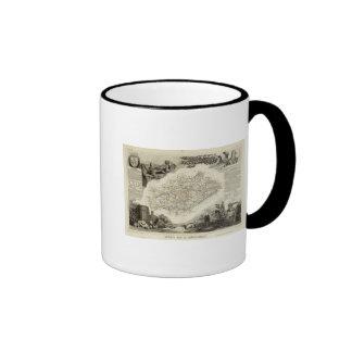 Boundaries Ringer Coffee Mug