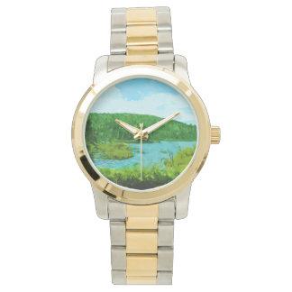 Boundary Waters Canoe Area Minnesota Abstract Wristwatch