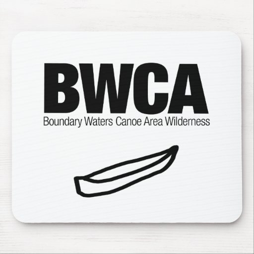 Boundary Waters Canoe Area Wilderness (BWCA) Mouse Pad