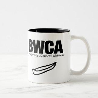 Boundary Waters Canoe Area Wilderness (BWCA) Two-Tone Coffee Mug