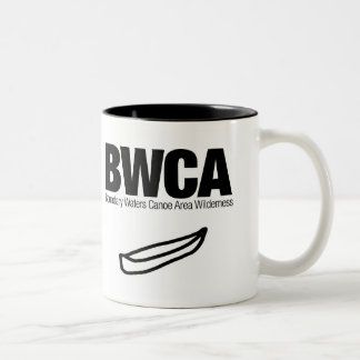 Boundary Waters Canoe Area Wilderness (BWCA) Two-Tone Coffee Mug