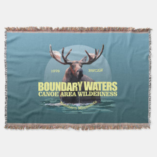 Boundary Waters CAW (Moose) WT Throw